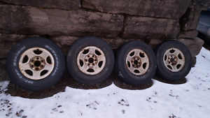 Gm rims and winters