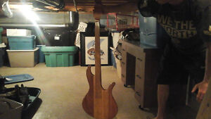 Wooden Eagle and Guitar