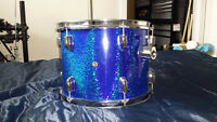 Like Brand New 5-piece Blue Sparkle Drum Kit Shell Pack