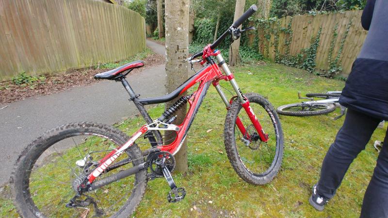 f1d912f4410 Devinci wilson full suspension mountain bike   in Warwick ...