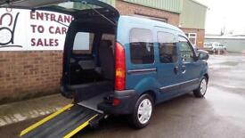 2005 Renault Kangoo Authentique Diesel Wheelchair Disabled Accessible Vehicle