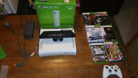 Xbox 360 (Jasper) With Kinect and 6 Games