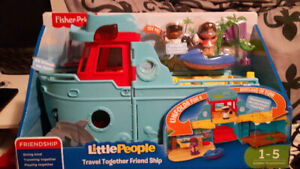 Brand new little people travel ship