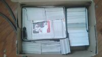 shoe box of hockey cards