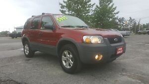 2007 FORD ESCAPE XLT *** CLEAN SUV *** CERT $5995