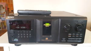 Sony 300 disc player