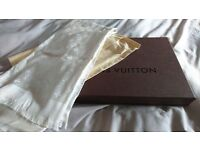 Louis Vuitton scarf (genuine)