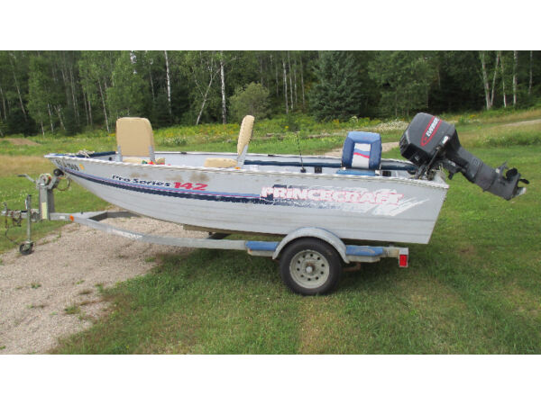 Used 1998 Princecraft pro series 14.2