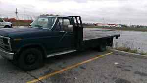 1986 dually f350 diesel flatbed for sale.