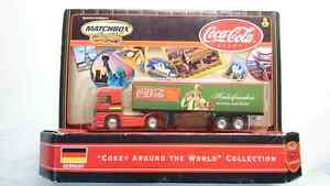 "MATCHBOX ""COKE AROUND THE WORLD COLLECTION"" SEMI TRUCK GERMANY"