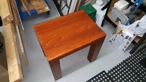 Coffee and End table custom made real wood