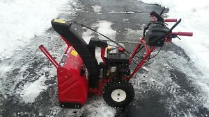 "24"" TROY-BILT Snowblower"