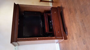 "TV UNIT + 32"" SHARP FLAT SCREEN TV"