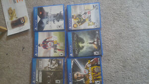 PS4 games for sale! Great games!