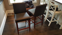 Two bar stools free to pick up