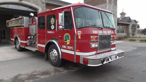 1992 Fire Truck - removed from svc January 2017