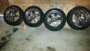 GOOD YEAR EAGLES RS. 4 245/45ZR20. .@ AMERICAN RACING RIMS