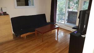 3 1/2 meublé, Métro FABRE  Wi-Fi inclu