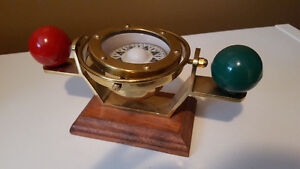 Antique ships compass