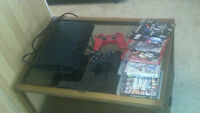 PS3 TWO CONTROLLERS 6 GAMES 500gb