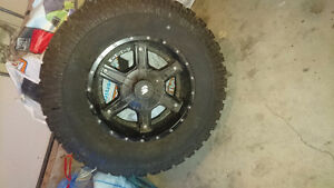 """35"""" Extreme AT procomp Tire with LRG Rim, never used."""