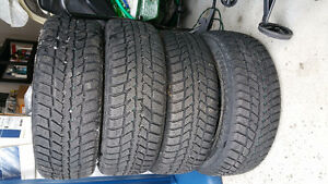 Honda Accord Winter tires and rims West Island Greater Montréal image 4