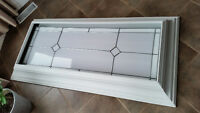 Stained Glass Accent Fluorescent Light Fixture
