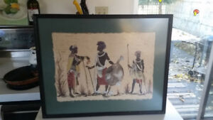 African papyrus picture