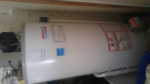 John wood propane hot water tank