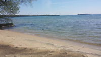COTTAGE FOR RENT. Direct Waterfront LAKE SIMCOE .ORILLIA