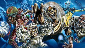 BEST Iron Maiden Ticket available! Down front & Up close!