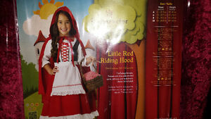 Little Red Riding Hood Costume Size 7/8 Cambridge Kitchener Area image 2