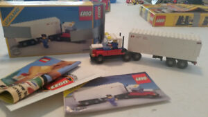 Vintage Lego Canada Post set 107 (1985) with box