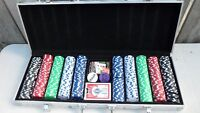 Cardinals Professional Texas Hold Em Deluxe Poker Chip Set $60.