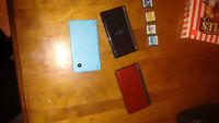 Nintendo DS 3 different colors