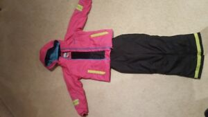 4-8 y Girl's ski jacket + snowpants Phenix Corbett
