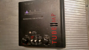 ART tube preamp for vocal mic or acoustic guitar