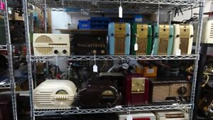 "VINTAGE RADIO ""SHOP OPEN SAT AUG 18 2018"""