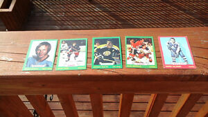 Vintage 1970's Hockey Cards Excellent Condition