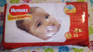 Diapers size 1 unopened box $10