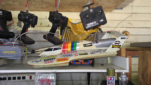 RC hydro boat electric RTR $200