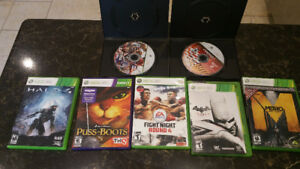 XBOX 360 VIDEO GAMES KINECT PLUS XBOX LIVE ALL WORKING
