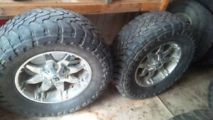 Assorted tires