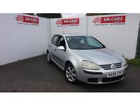 2006 06 VOLKSWAGEN GOLF 1.6 FSI S 5 DOOR.SAME OWNER SINCE 2010.FANTASTIC VALUE .