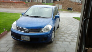 2008 NISSAN VERSA 1.8 LITTER VERY CLEAN INSIDE WITH SAFETY