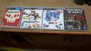 Madden 11, brothers in arms H.H , NHL11 , Resistance 3 London Ontario image 1