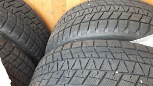 Bridgestone Blizzard tires 255/55R20