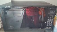 Huge Panasonic 2.2 Cu. Ft. Microwave (NNSN968B) for sale