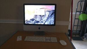 "$500 OBO - Apple package - 20"" iMac and iPhone 5c 8GB"