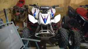 2013 honda trx 450r barely used